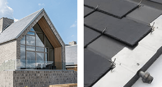 Thermoslate panel solar