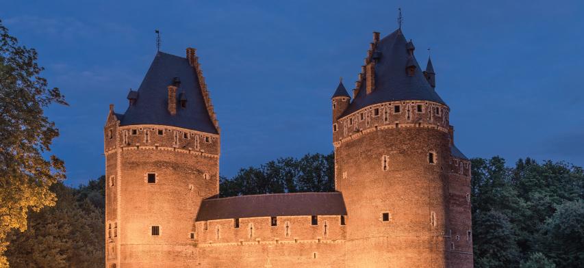 Natuurleien voor Dakbedekking kastelen van beersel België