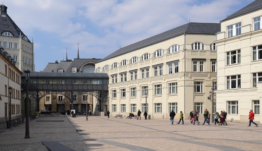 cite judiciaire du grand duche de luxembourg - couverture ardoise