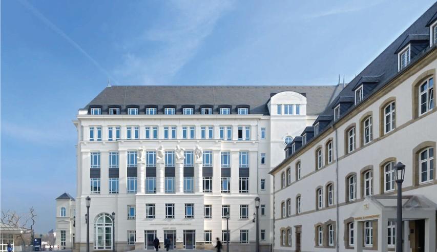 cite judiciaire du grand duche de luxembourg - toiture ardoise