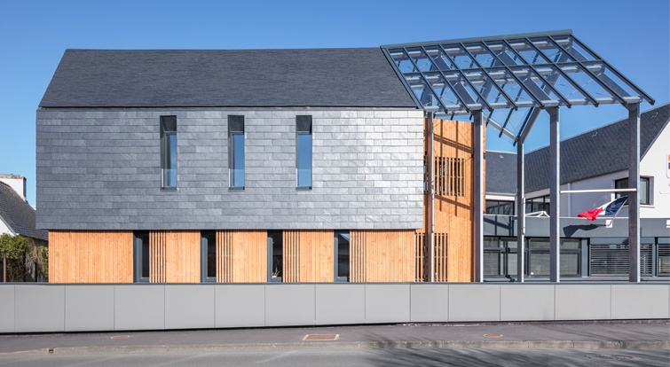 office building Haut Pays Bigouden in French Brittany