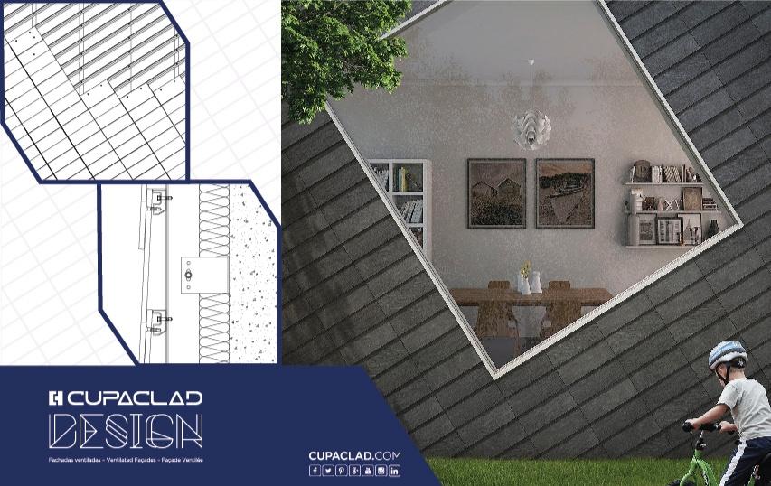 cupaclad design 2 facade rectangles