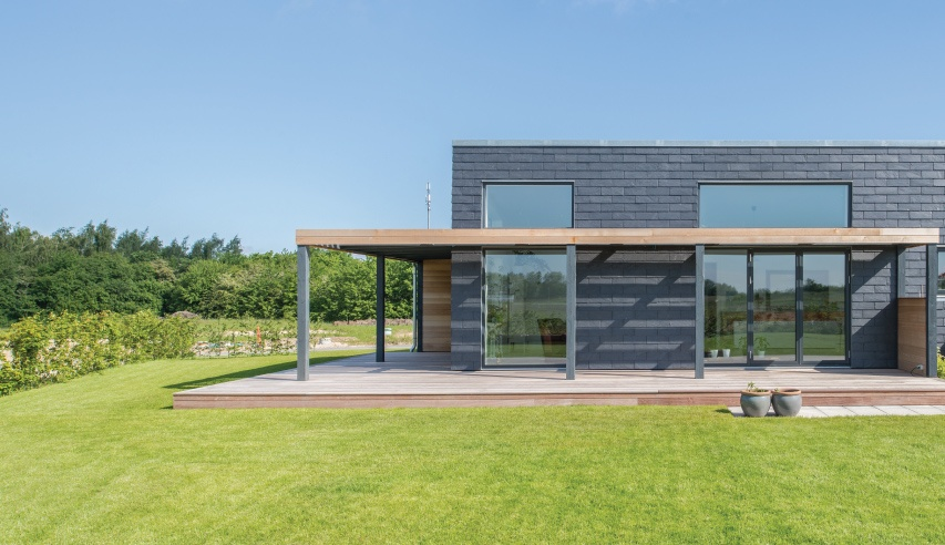 slate cladding for home for life project