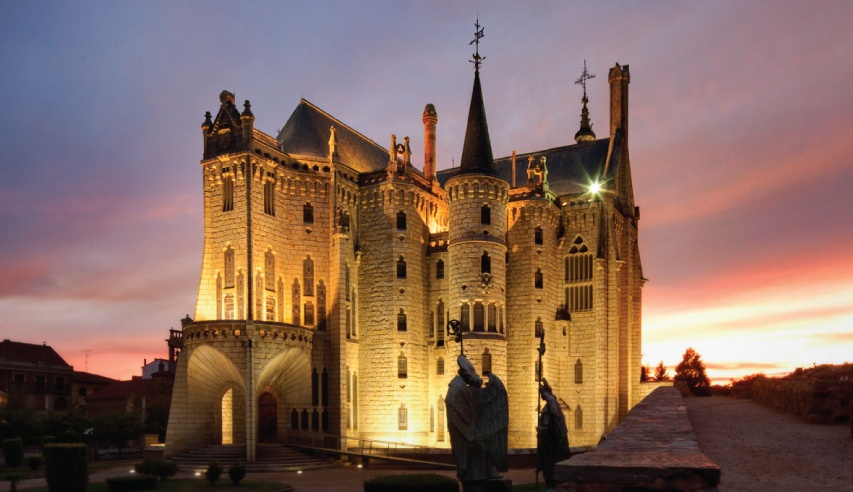Episcopal Palace of Astorga architect gaudi