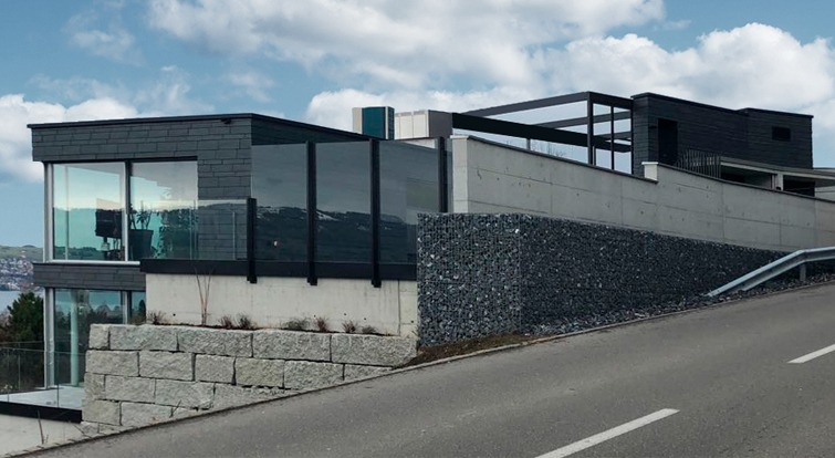 3 houses in Zurich featuring Cupaclad slate rainscreen cladding