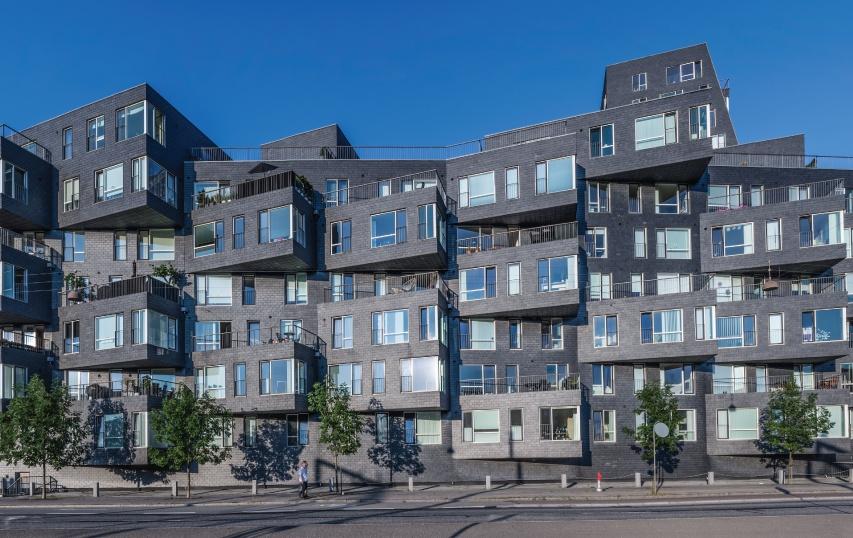 bardage rapporte logement danemark