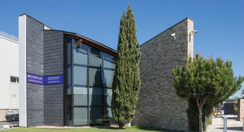 fachada ventilada en pizarra natural
