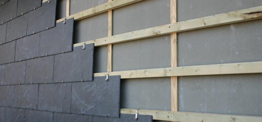 slate cladding system