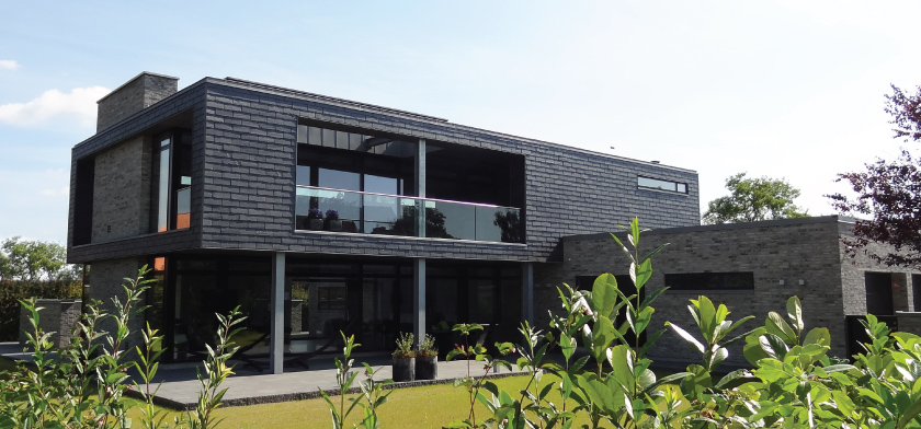 sustainable slate cladding system