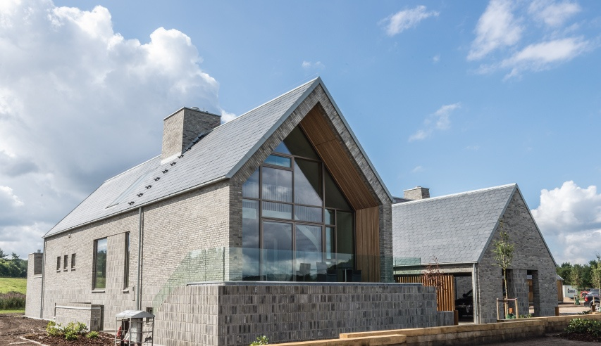 thermoslate solar roof in soelyst denmark