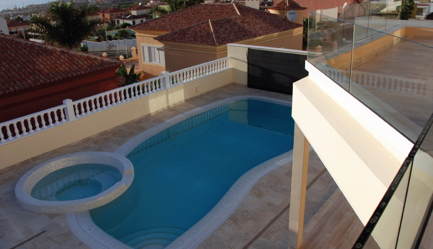 thermoslate pool heating in tenerife