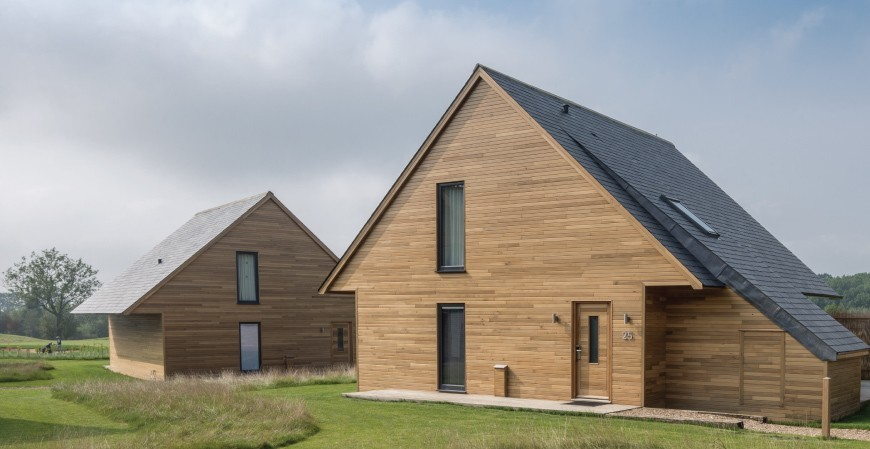toiture en ardoise Country Lodges uk