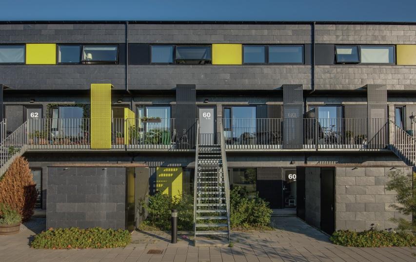 alman bolig danemark - slate cladding houses
