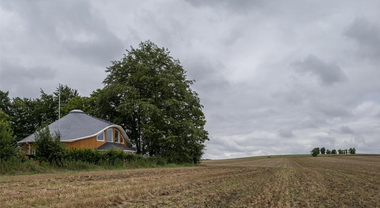 maison avec couverture circulaire - Cambridgeshire  (Royaume-Uni)