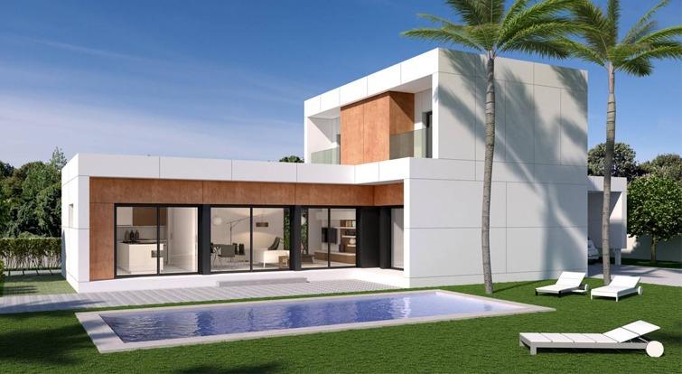 concreto modular house