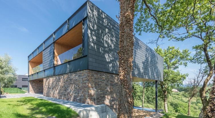 casa modular de pizarra en Bilbao