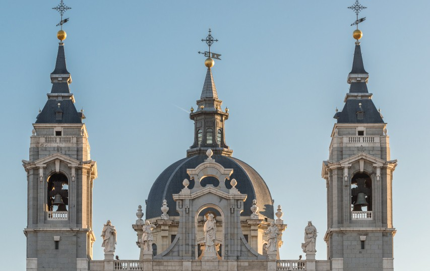catedral de la almudena cubiertas de pizarra