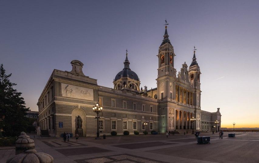 renovación de la cubierta de la catedral de la almudena - Madrid