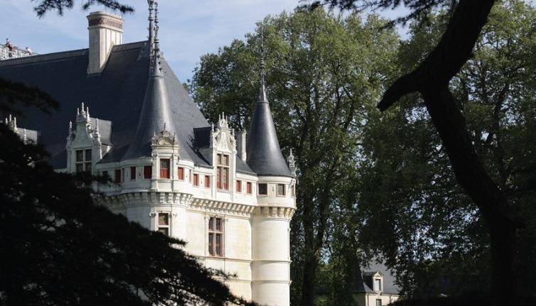 chateau azay le rideau patrimoine francaise