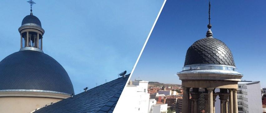 resultado renovación cubierta de la iglesia San Juan y San pedro de Renueva