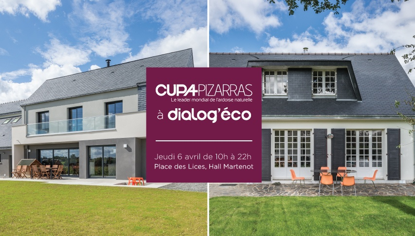 Cupa Pizarras au Dialog' Éco, le salon de la construction et la prescription