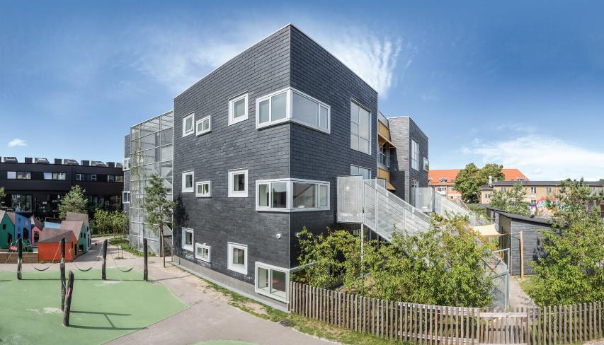 eficiencia energetica contra el calor con una fachada ventilada