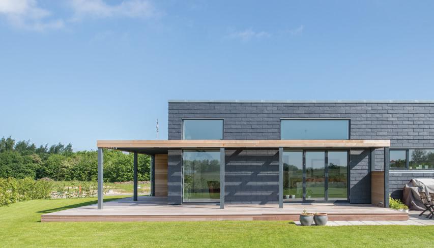 edificio de alto rendimiento energetico con fachada ventilada