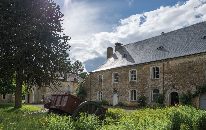 restauraiton ferme chaetau belgique