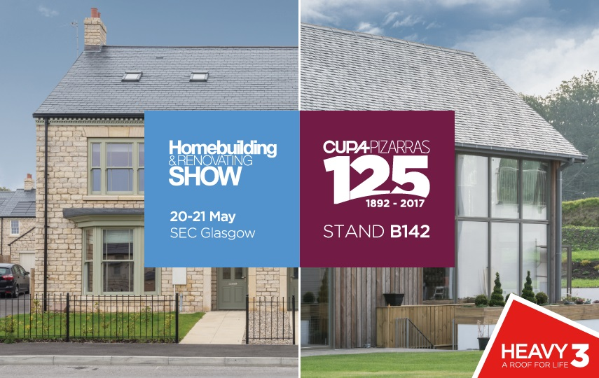 cupa pizarras at the homebuilding and renovation show glasgow 2017