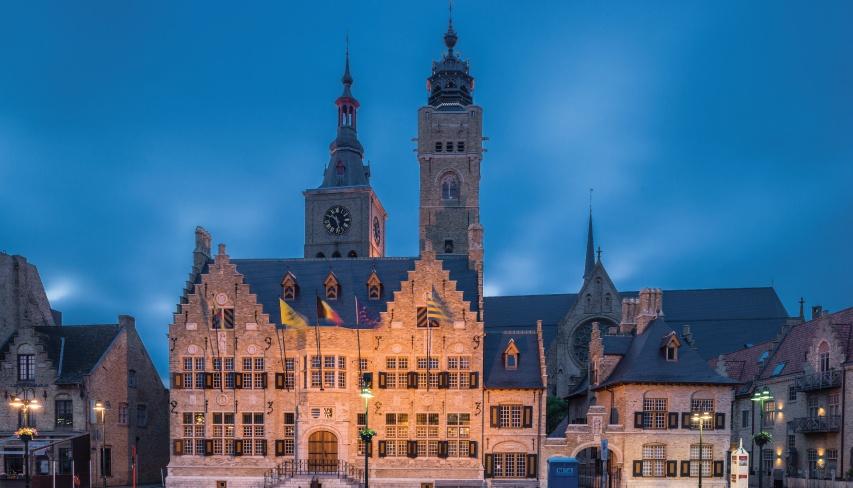toiture hotel ville de dixmude belgique
