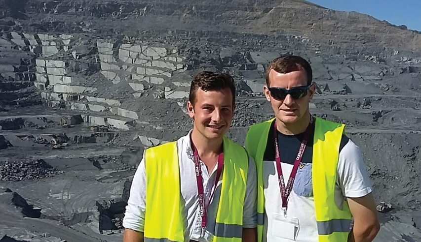 students leeds college of building at cupa quarry in spain
