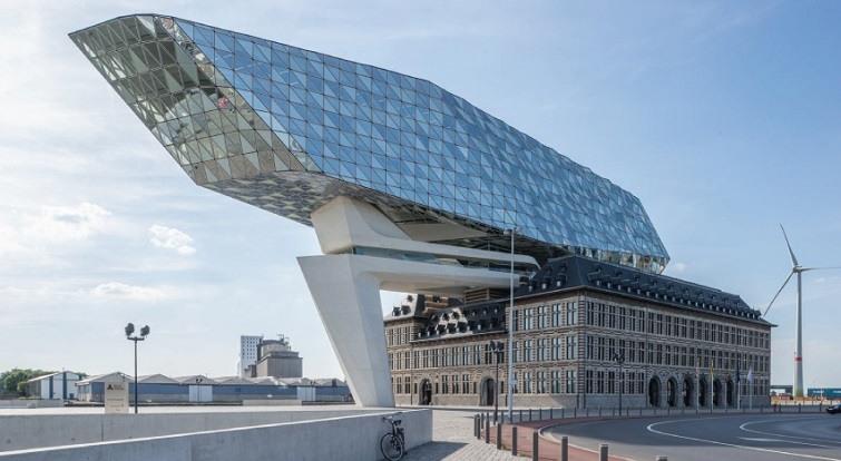Port of Antwerp zaha hadid