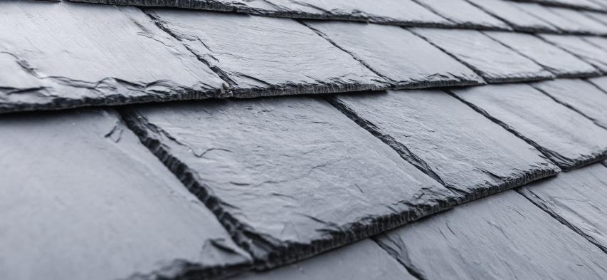 foto detalle pizarra natural para tejados