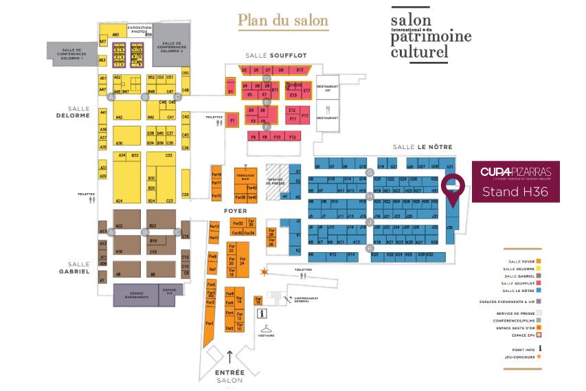 salon international du patrimoine culturel 2017 plan