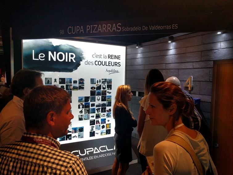 stand cupa pizarras architect at work paris 2016
