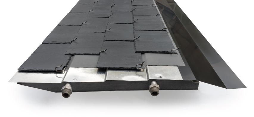 detalle panel solar thermoslate