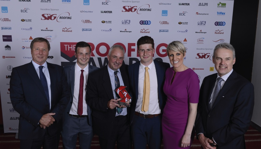 uk roofing awards 2017 winners