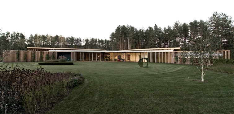 Villa G project in Lithuania