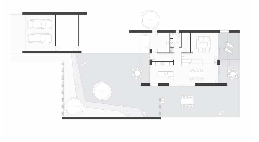 Plans Villa P- House in Denemarken