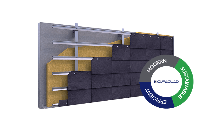 3d rainscreen cladding cupaclad 101 parallel