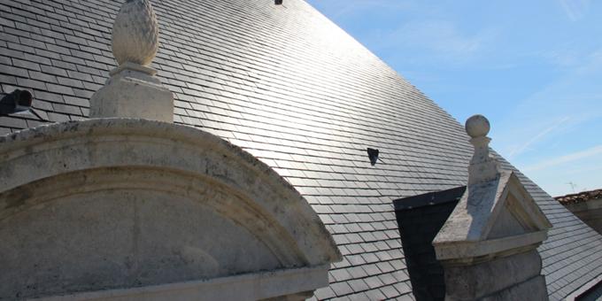 Ardoise CUPA sur l'Abbaye Royale de Saint Jean d'Angély