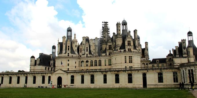 Château de Chambord avec ardoise naturelle CUPA