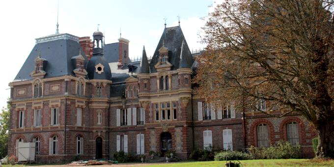 Ardoise naturelle CUPA sur la toiture du Château de La Chapelle