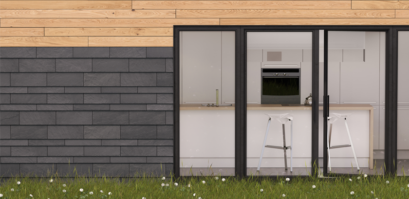 CUPACLAD, natural slate cladding systems