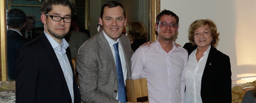 CUPAPIZARRAS avec le 'Trophée de l'ID 2015'