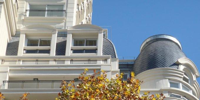 Cubierta de pizarra CUPA en edificios de Buenos Aires