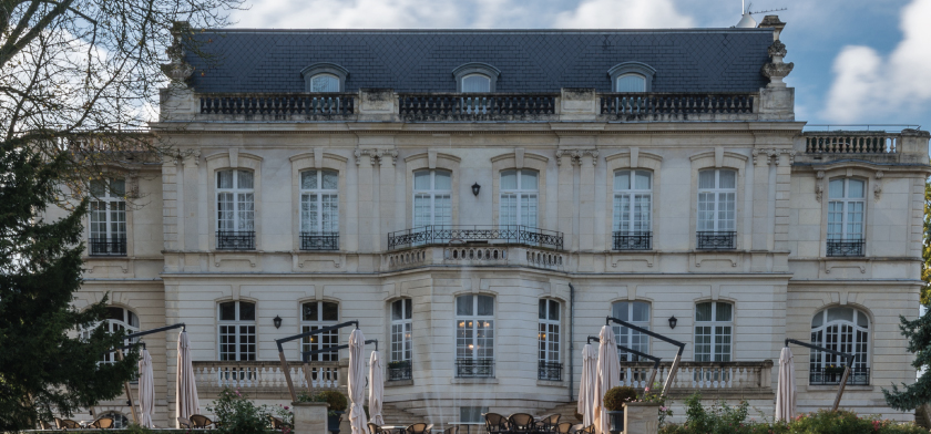 Château de Rilly couverture ardoise