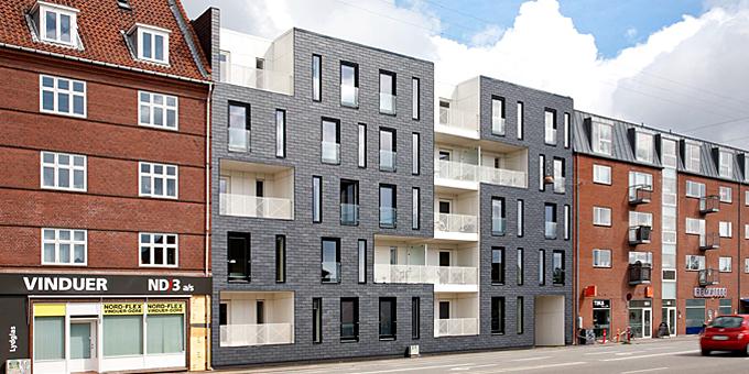 CUPACLAD ventilated facade