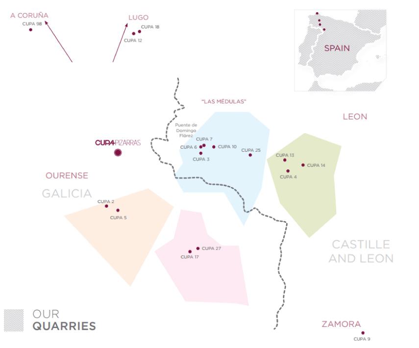spanish slate quarries