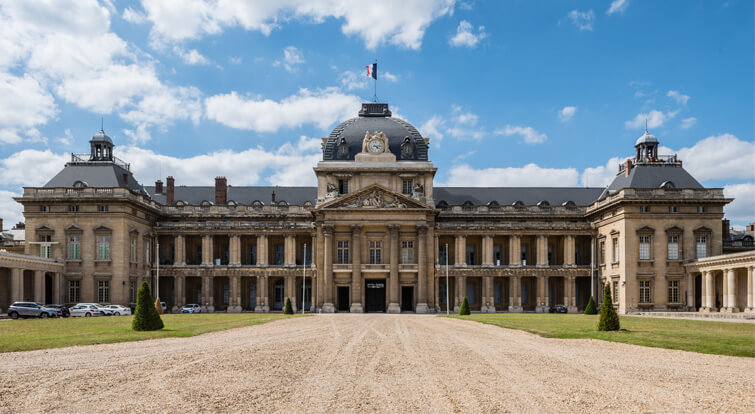 l'ecole militaire in paris